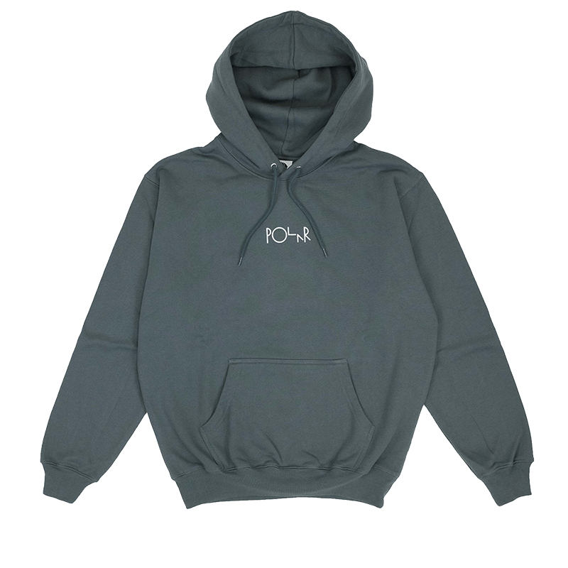 Stroke Hoody Grey Green