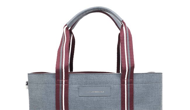Shopper Tote Multi Heather Grey 1
